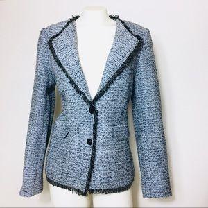 Karl Lagerfeld Tweed blazer size 10 women's